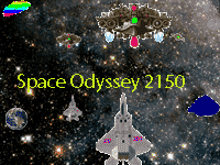 Space Odyssey 2150 game, alien invasion