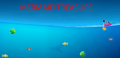 Mermaid and the treasure of gold android app game now available on Google Play free